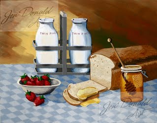 Jennifer Donald Breakfast Colonial Beach Virginia fine art artist