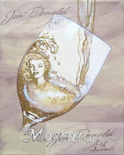 Jennifer Donald Moscato A Day Without Wine Marilyn Monroe wine painting, Colonial Beach Virginia, Colonial Beach real estate, Colonial Beach attractions, Colonial Beach tourism
