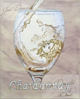 Jennifer Donald A Day Without Wine Chardonnay Brigette Bardot wine painting, Colonial Beach Virginia, Colonial Beach real estate, Colonial Beach attractions, Colonial Beach tourism