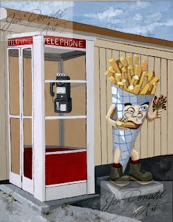Jennifer Donald French Fry Guy Parr's Drive-In Tappahannock Virginia