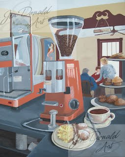 Jennifer Donald Wake Me Up Java Jacks Tappahannock Virginia Colonial Beach Virginia artist