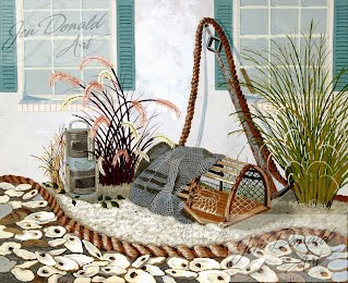 Jennifer Donald Its So Urbanna Peddlers Market Colonial Beach Virginia fine art artist